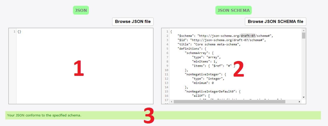 JSON schema user guide